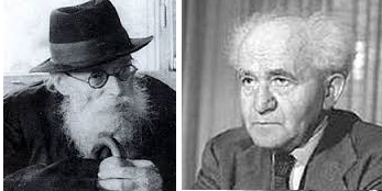 Ben Gurion and The Chazon Ish